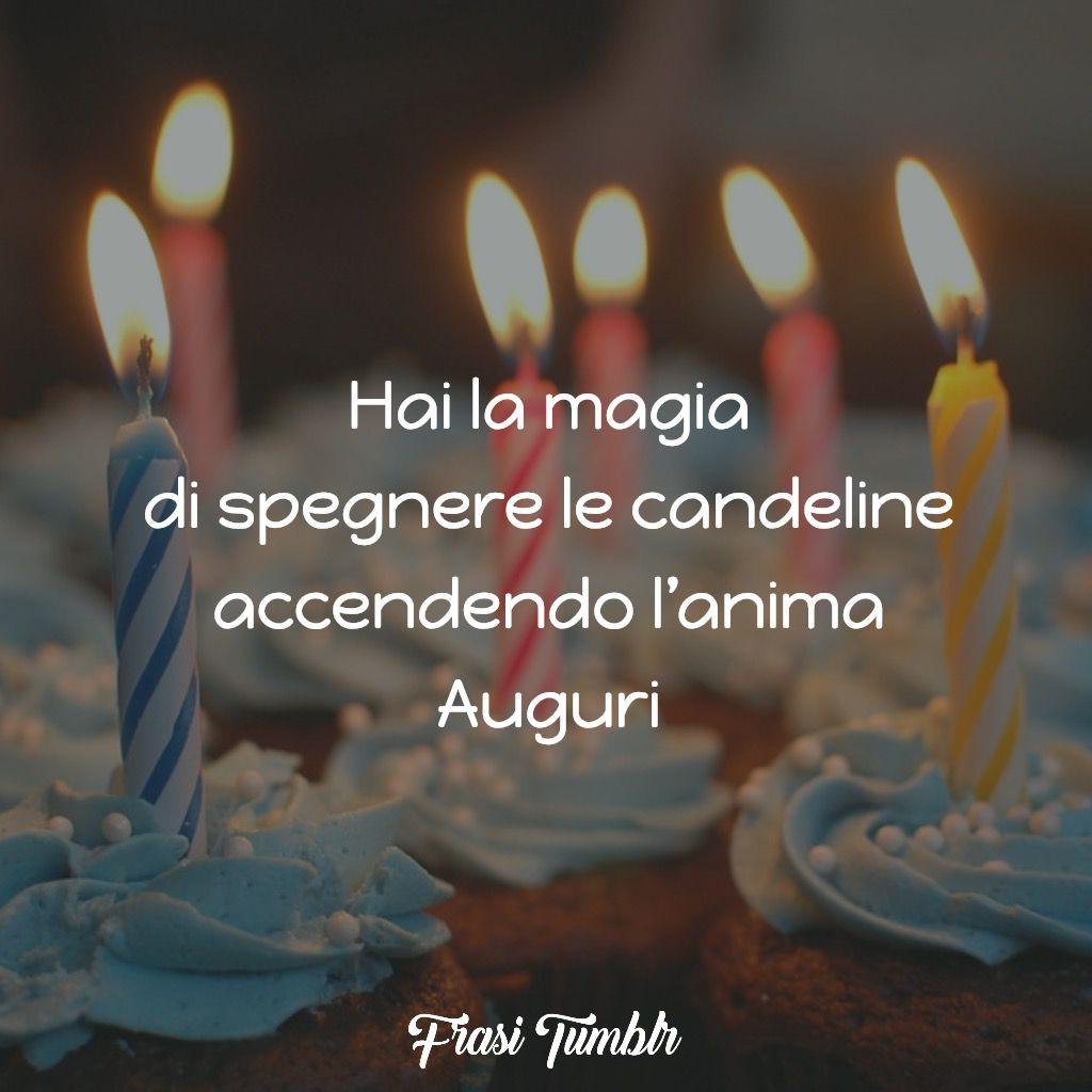 buon compleanno magia candeline anima