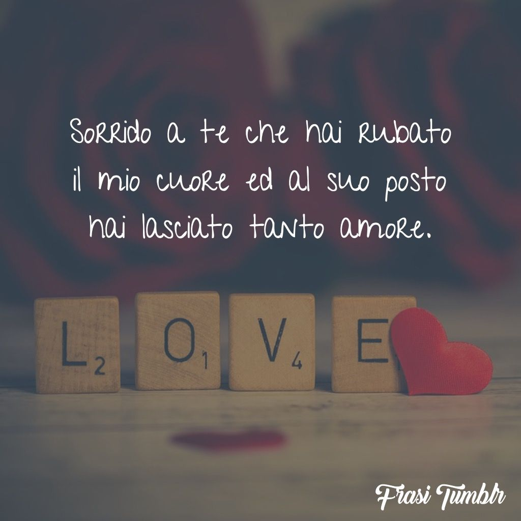 sorrido rubato cuore amore