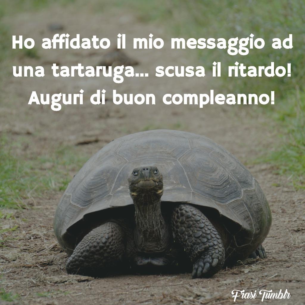 frasi-auguri-buon-compleanno-ritardo-messaggio-tartaruga