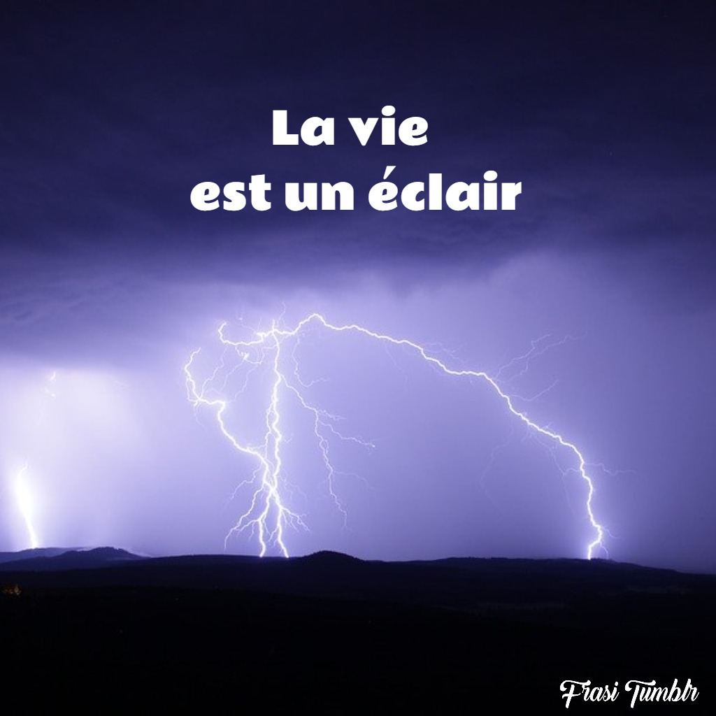 frasi-vita-francese-lampo