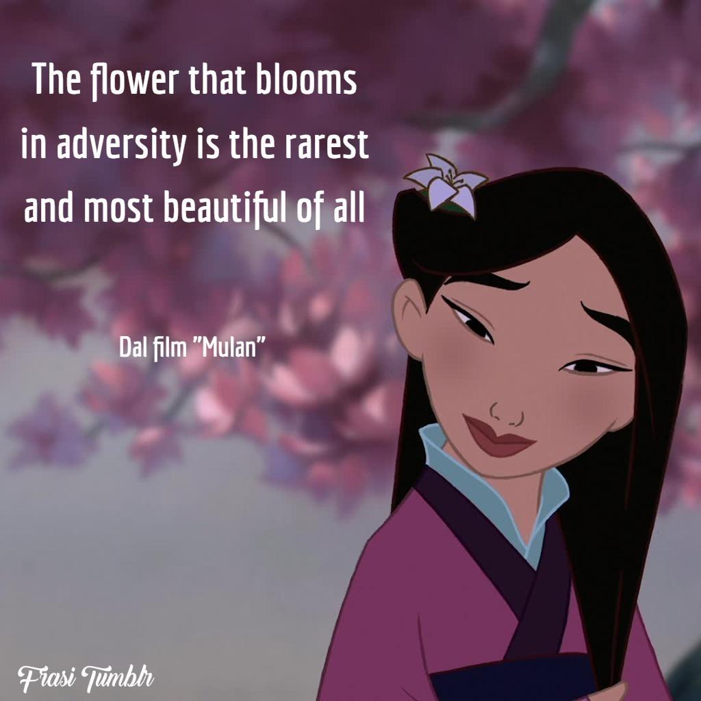 frasi-belle-famose-inglese-mulan-fiore-prezioso