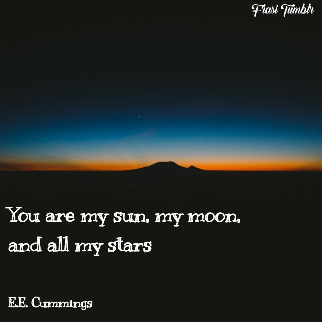 frasi-belle-famose-inglese-sole-stelle-luna