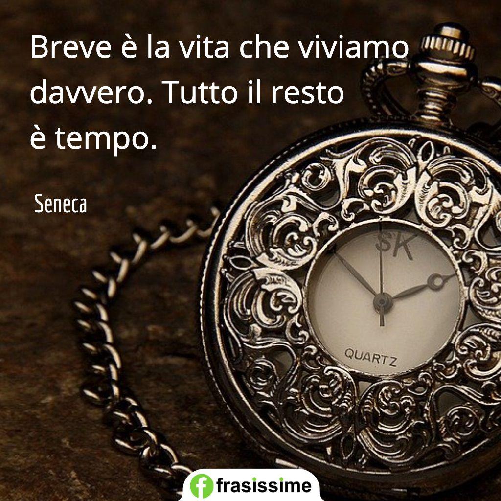 Frasi Sulla Brevita Della Vita.Frasi Sul Tempo E La Vita Di Seneca 45 Aforismi Celebri