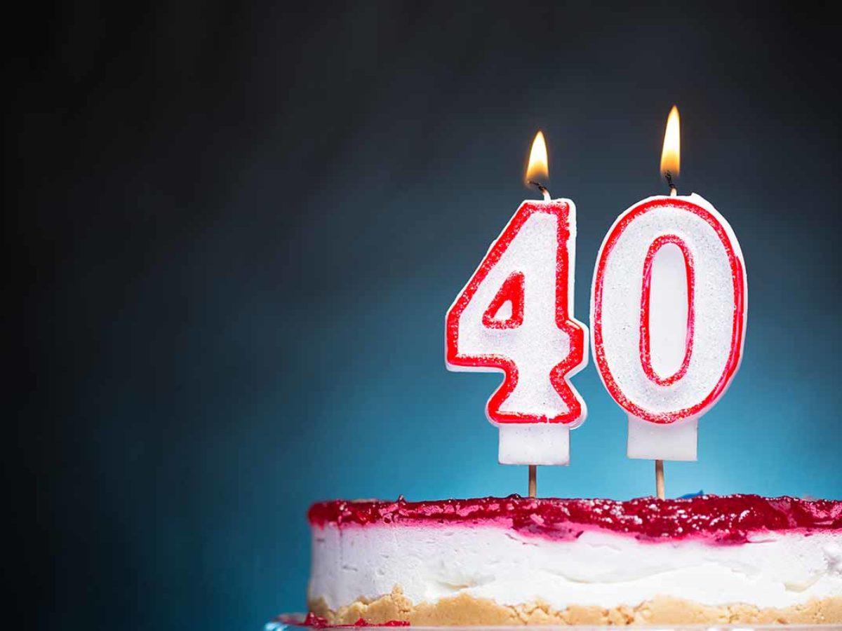spesso Auguri 40 Anni: le 60 frasi di compleanno più belle e simpatiche YH77