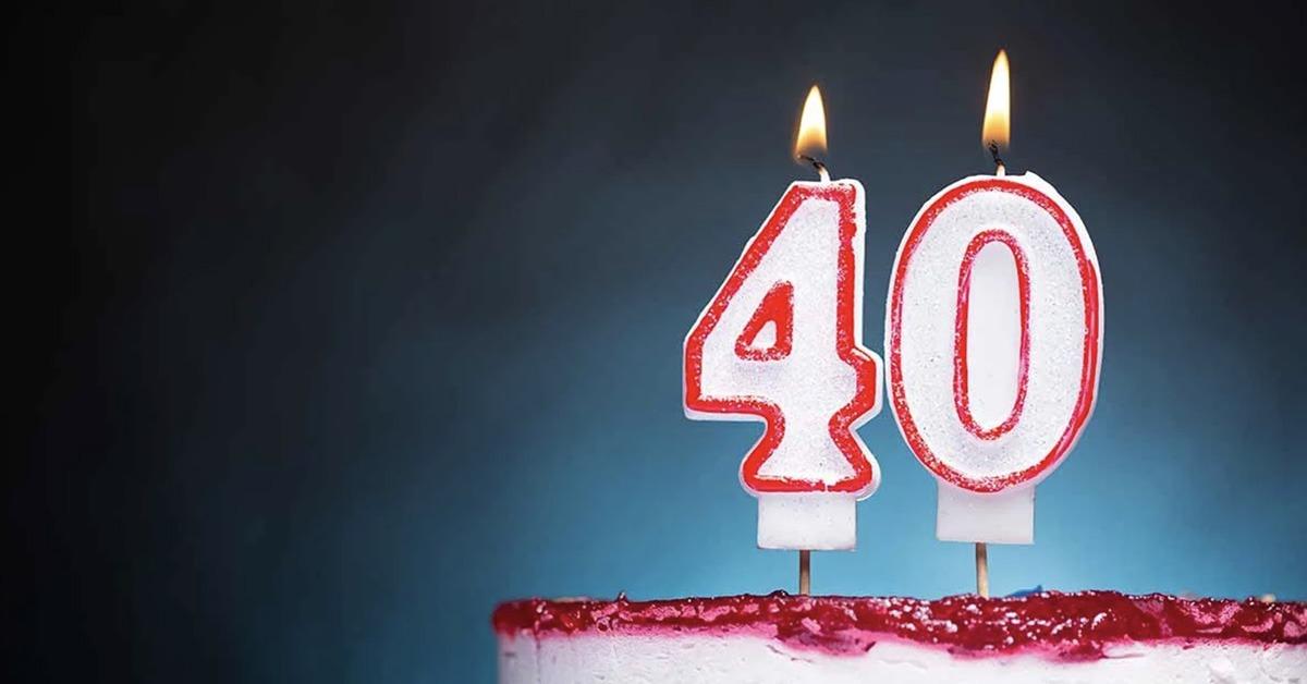 Auguri Di Buon Compleanno Per I 40 Anni Le Frasi Piu Belle E Divertenti